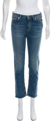 Acne Studios Row Carter Mid-Rise Jeans