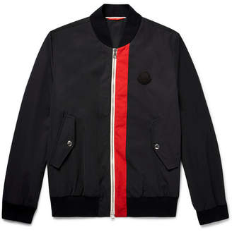 Moncler Joey Striped Shell Bomber Jacket