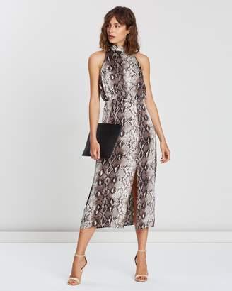 Atmos & Here Beth Tie Back Dress