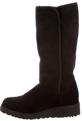 UGGUGG Australia Suede Kara Wedge Boots