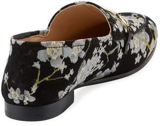 Karl Lagerfeld Paris Ember Floral Brocade Loafer