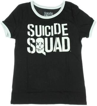 Bioworld DC Comics Suicide Squad /White Ringer Womens T-shirt
