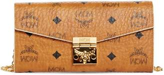 MCM Large Visetos Wallet on a Chain