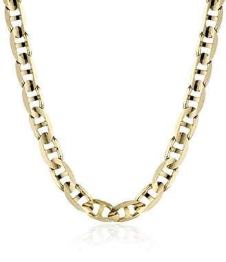 Men's 14k Yellow Gold 4.8mm Italian Mariner Chain Necklace