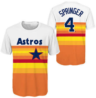 Outerstuff George Springer Houston Astros Coop Poly Player T-Shirt, Big Boys (8-20)