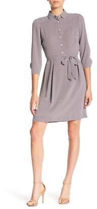 Anne Klein Waist Tie Shirt Dress