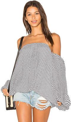 MLM Label Dallas Top in Black & White $165 thestylecure.com