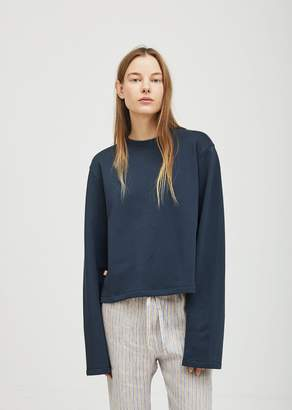 Acne Studios Lithea Fleece Pullover Midnight Blue