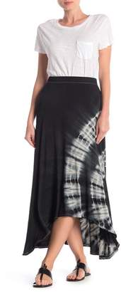 Couture Go Tie Dye High/Low Maxi Skirt