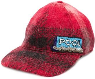 No.21 beaded patch cap