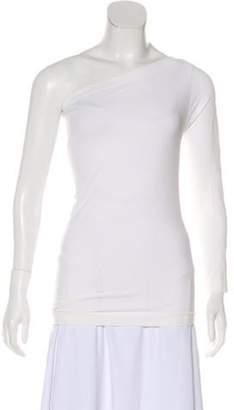 Helmut Lang One Shoulder Long Sleeve Top One Shoulder Long Sleeve Top