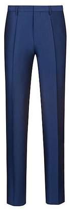 HUGO BOSS Extra-slim-fit suit in micro-patterned virgin wool