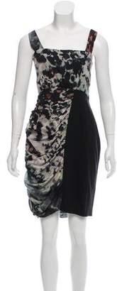 Andrew Marc Printed Mini Dress