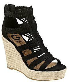 GByGUESS G By Guess Women's Madison Espadrille Wedges $59.99 thestylecure.com