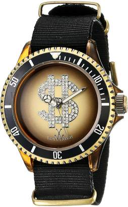 Toy Watch Men's D03BZ Analog Display Quartz Black Watch