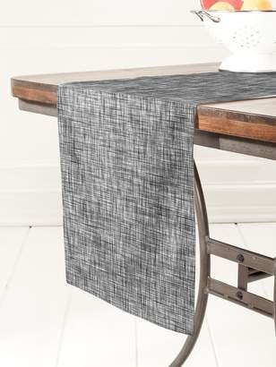 Deny Designs Striped Linen Table Runner