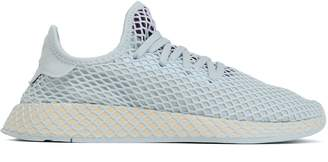 adidas Deerupt Runner Mesh-appliqued Stretch-knit Sneakers