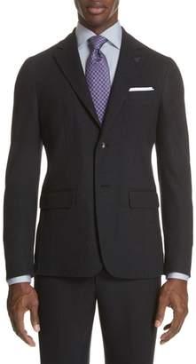 Canali Slim Fit Wool & Cotton Blazer