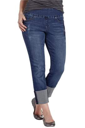 Jag Cuffed Distressed Jeans