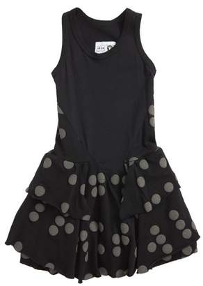 Nununu Braille Dot Layered Tank Dress