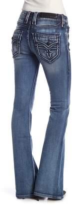 Rock Revival Luz Mid Rise Flare Jeans
