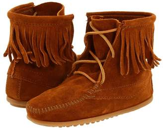 Minnetonka Kids Ankle Hi Tramper Boot Girls Shoes