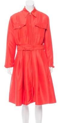 Ralph Lauren Purple Label Silk Midi Dress w/ Tags