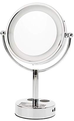 Danielle LED Lighted Bluetooth & Phone Makeup Mirror