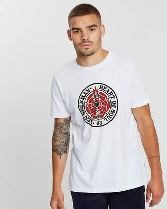 Ben Sherman Heart of Soul Rose T-Shirt