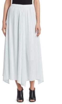 Pleats Please Issey Miyake Multi-Crepe Midi Skirt