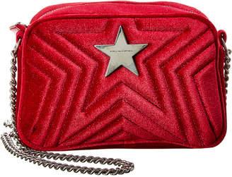 Stella McCartney Stella Star Velvet Camera Bag