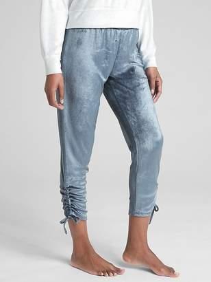 Gap Side-Tie Lounge Pants in Velour