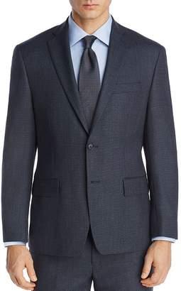 Michael Kors Mélange Birdseye Classic Fit Suit Jacket