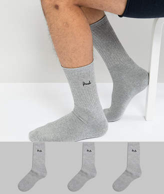 Pringle Crew Socks In 3 Pack