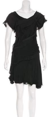 Nina Ricci Ruffled Sleeveless Dress