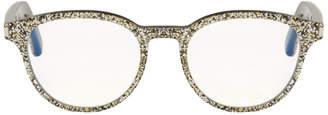 Saint Laurent Silver Classic 10 Retro Glasses