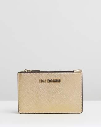 Love Moschino Top Zip Wallet