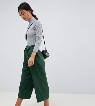 Asos DESIGN Petite mix & match culottes with tie waist