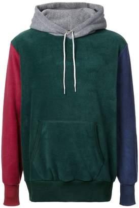 Leon Aimé Dore colour block hoodie