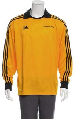 Gosha Rubchinskiy x adidas Soccer Polo Shirt w/ Tags yellow x adidas Soccer Polo Shirt w/ Tags