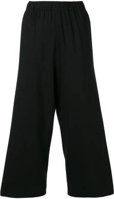 6397 Wide Leg Cropped Trousers