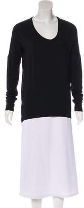 Helmut Lang High-Low Long Sleeve Tunic