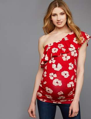 A Pea in the Pod Side Ruched Maternity Top