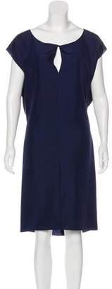Saint Laurent Silk Cutout Dress w/ Tags