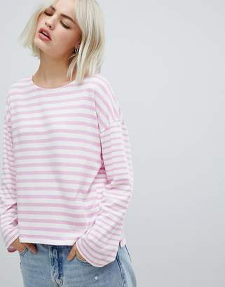 Pepe Jeans Morgan stripe long sleeved t-shirt