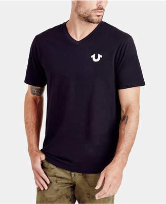 True Religion Men's Classic Horseshoe Logo T-Shirt