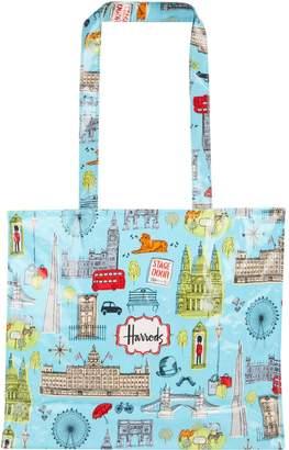 Harrods London Map Shoulder Bag