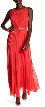 Eliza J Pleated Sleeveless Maxi Dress $168 thestylecure.com