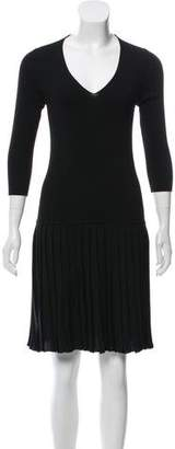 Prada Sport Knee-Length Knit Dress