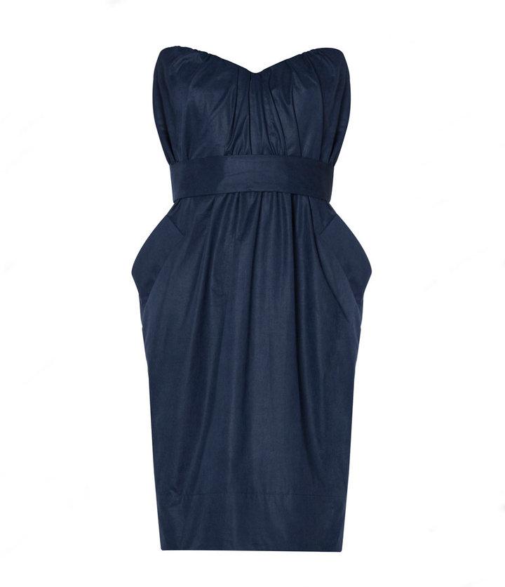 AllSaints Jessamine Corset Dress